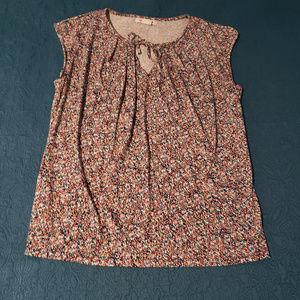 Liz Claiborne size medium multi colored sleeveless